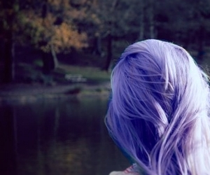 colored hair