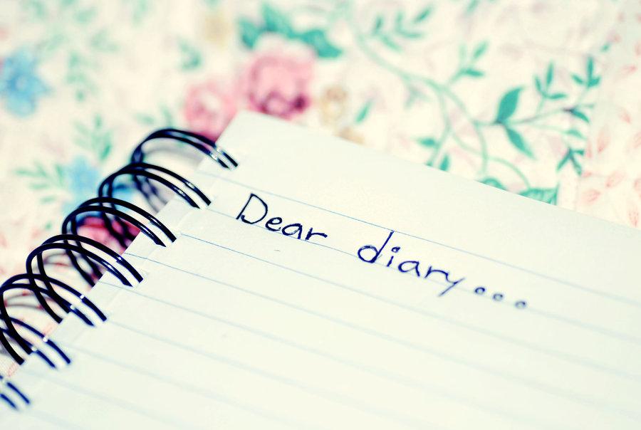 beautiful, dear, and diary image