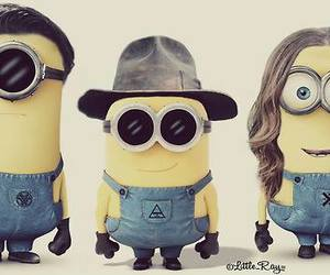 30 seconds to mars, minions, and jared leto image