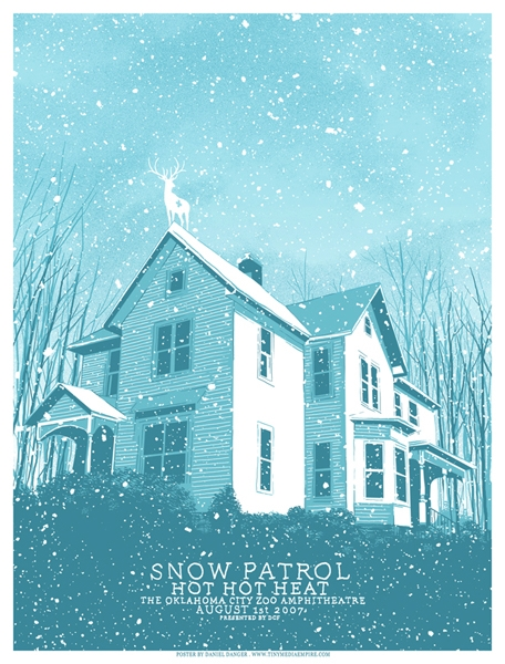 poster and snow patrol image