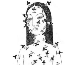 girl and knife image