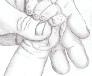 baby, drawing, and newborn image