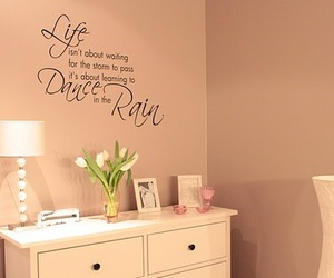 life, quote, and room image