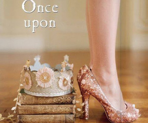 book, shoes, and princess image