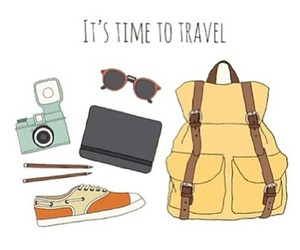 drawing and travel image
