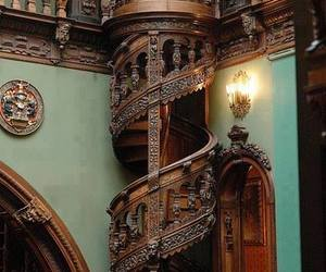 staircase, stairs, and romania image