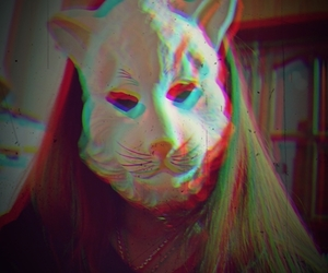 cat, party, and Psycho image