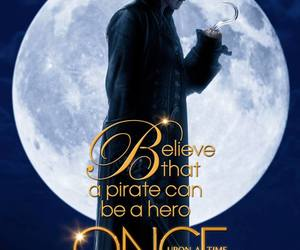 once upon a time, hook, and pirate image