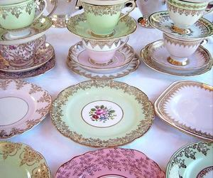 colorful, porcelain, and vintage image