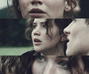 the hunger games, Jennifer Lawrence, and katniss everdeen image