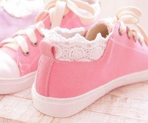 pink, shoes, and kawaii image