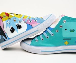 chucks, adventure time, and sneaks image