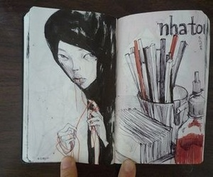 paint, art, and drawing image