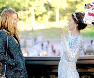 gossip girl, leighton meester, and blake lively image