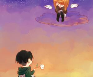 petra ral, anime, and anime couple image
