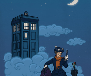 disney, doctor who, and Mary Poppins image