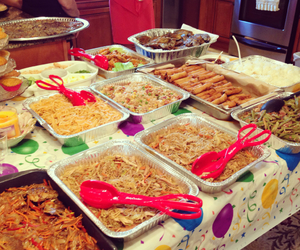 filipino, food, and party image