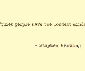 quote, mind, and stephen hawking image