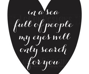 heart, quote, and typography image
