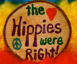 peace, hippies, and love image