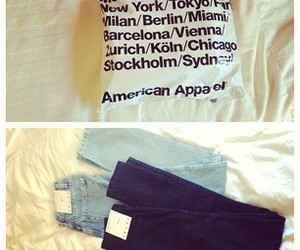alien, american apparel, and pants image