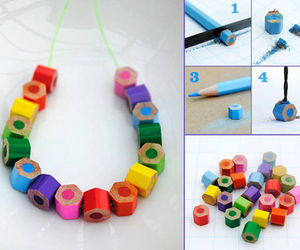 diy, pencil, and bracelet image