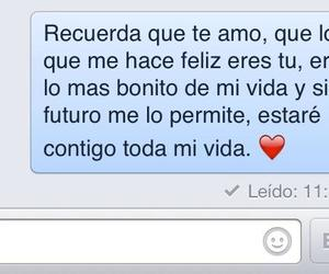 forever, te amo, and messages image