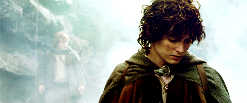lord of the rings, baggins, and sad image