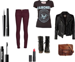cool, outfit, and rock image