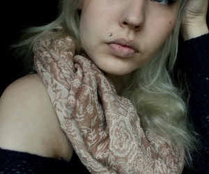 blond, piercing, and finnish image