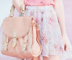 pink, fashion, and bag image
