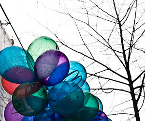 autumn and balloons image