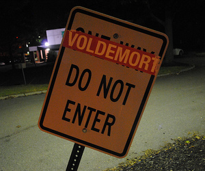voldemort, harry potter, and sign image