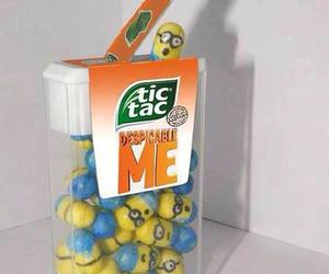 minions, tic tac, and despicable me image