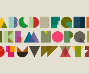 alphabet, typography, and colour image