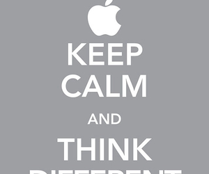 keep calm, apple, and different image