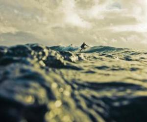 surf, sea, and waves image