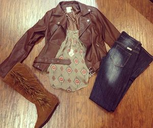 cute fall outfit image