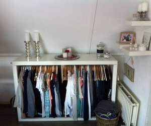 closet, clothes, and cosy image