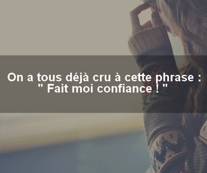 phrases de filles and confience image