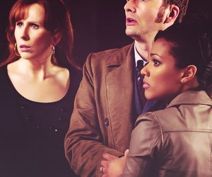 david tennant, doctor who, and donna noble image