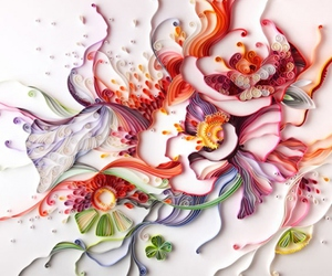 art, Paper, and quilling image