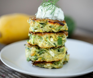 feta, food, and fritter image