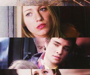 gossip girl, blair waldorf, and serena image