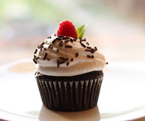 cake, chocolate, and sprinkles image