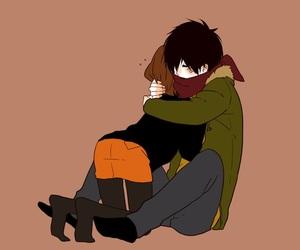 couple, hug, and anime image