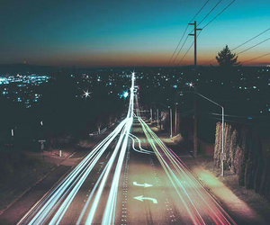 highways, lights, and perfect image