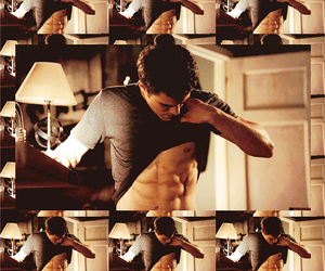 muscles, stefan, and the vampire diaries image