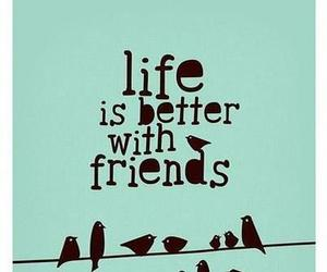blue, quote, and friend image