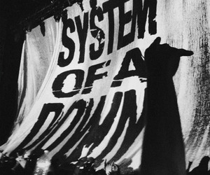 b&w, system of a down, and soad image